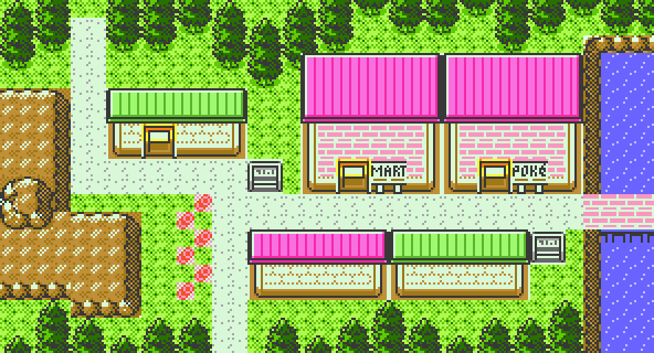 Pokémon-Map: Retromap