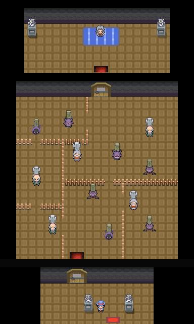 Pokémon-Map: Friedhofsarena