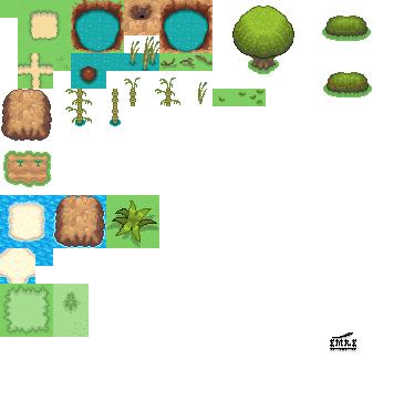 Pokémon-Tileset: Tiles ^.^