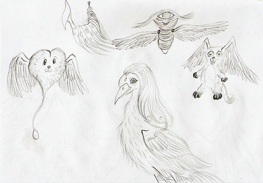 Pokémon-Zeichnung: Knuddeltiere