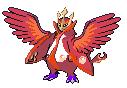 Rotes Impoleon+Flügel