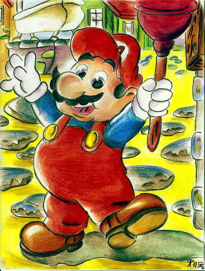 Pokémon-Zeichnung: Mario Colo