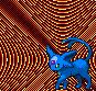 Ein blaues Psiana