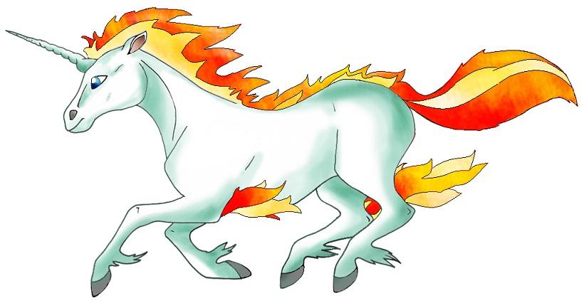Pokémon-Zeichnung: Gallopachen
