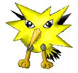 Pokémon-Zeichnung: Zapdos Colo
