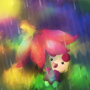 Pokémon-Zeichnung: Kinoso