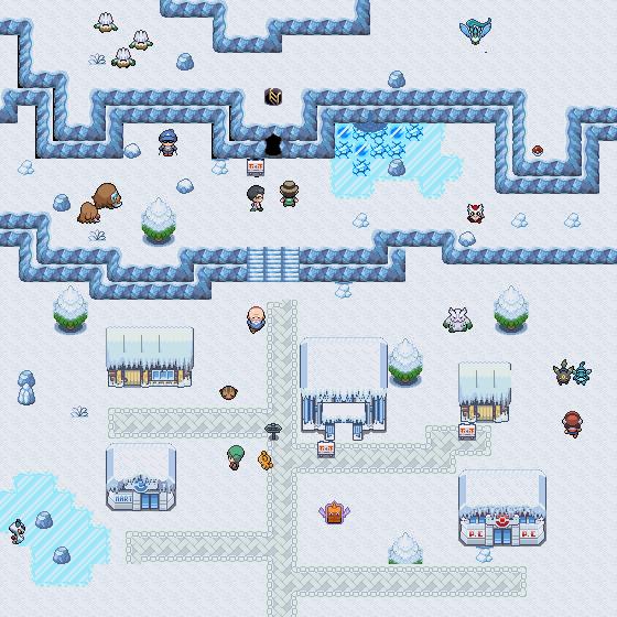 Pokémon-Map: Kalt, kälter, am kältesten!