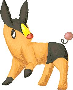 Pokémon-Zeichnung: Pokabu