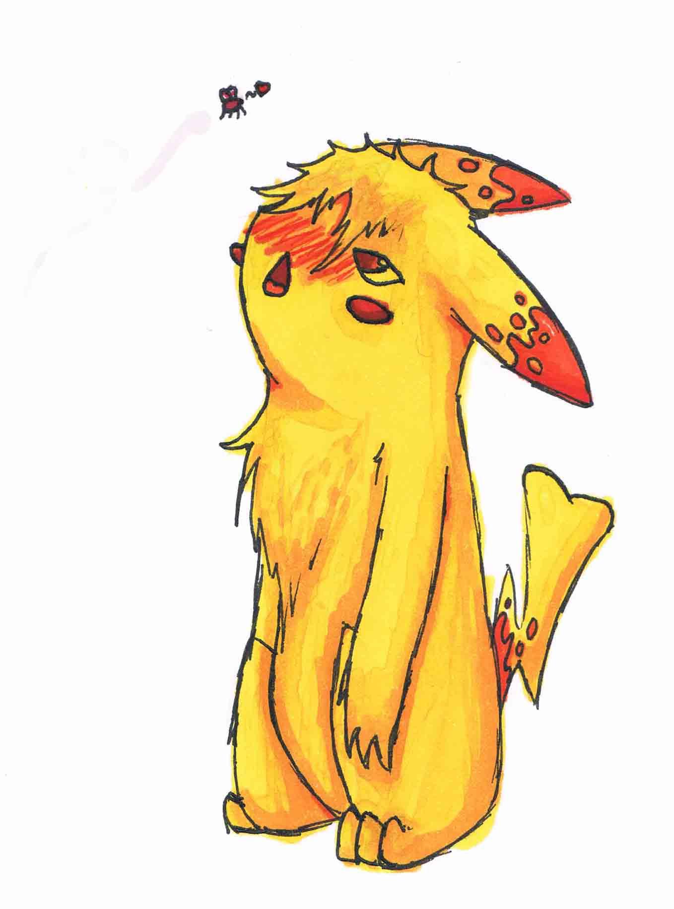 Pokémon-Zeichnung: PikaPokesona