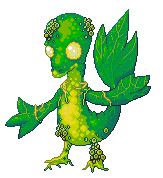 Pokémon-Pixelart: Snivy