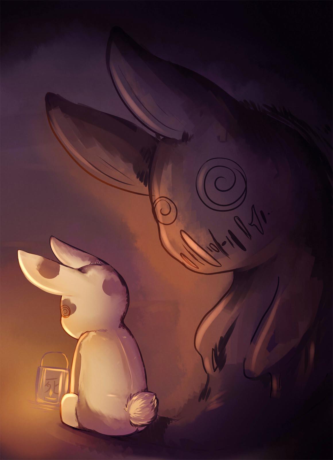 Pokémon-Zeichnung: Licht