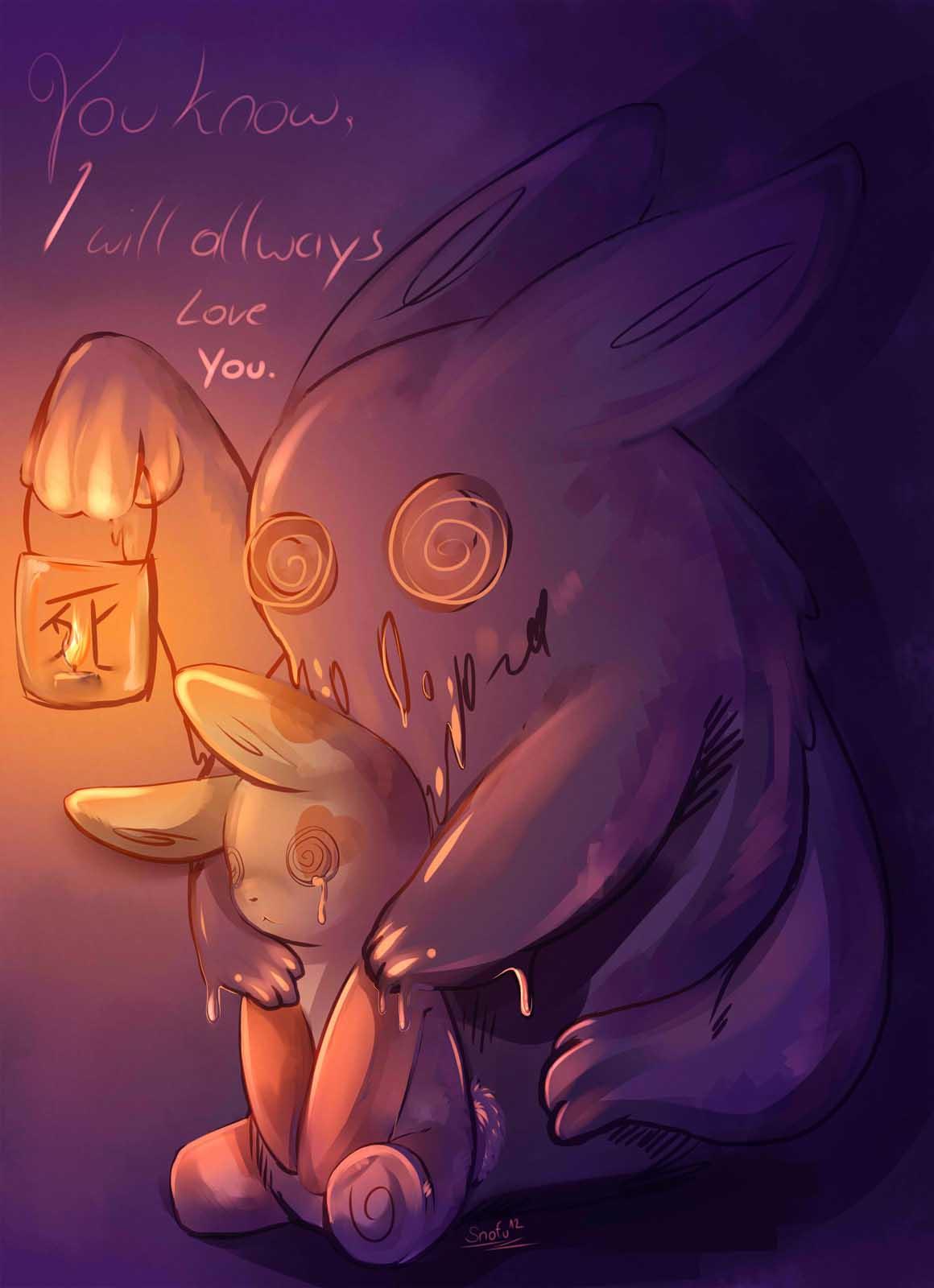 Pokémon-Zeichnung: Dunkelheit