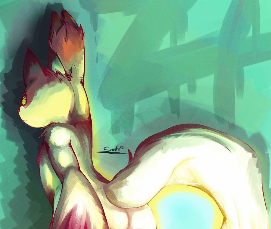 Pokémon-Zeichnung: PO..