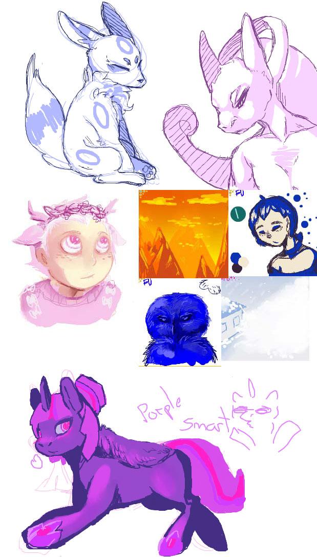 Pokémon-Zeichnung: Schkibbel