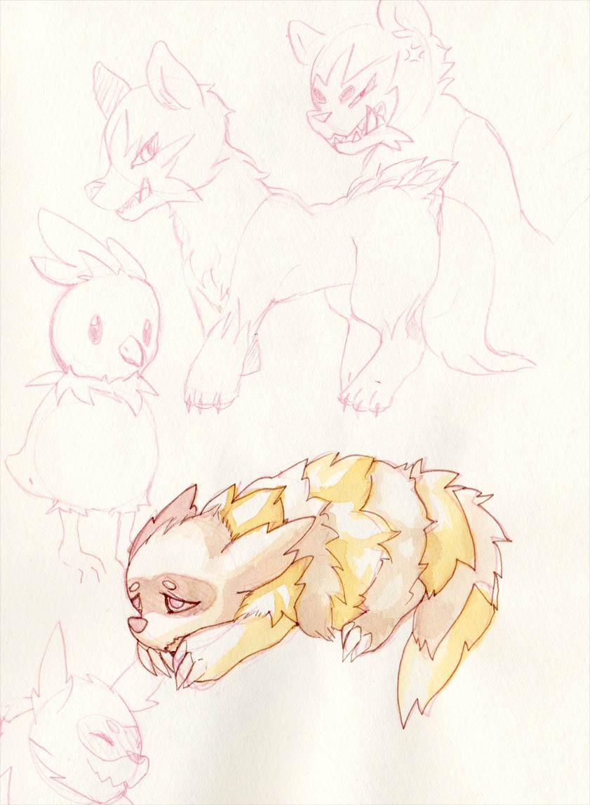 Pokémon-Zeichnung: Einreichung 31561
