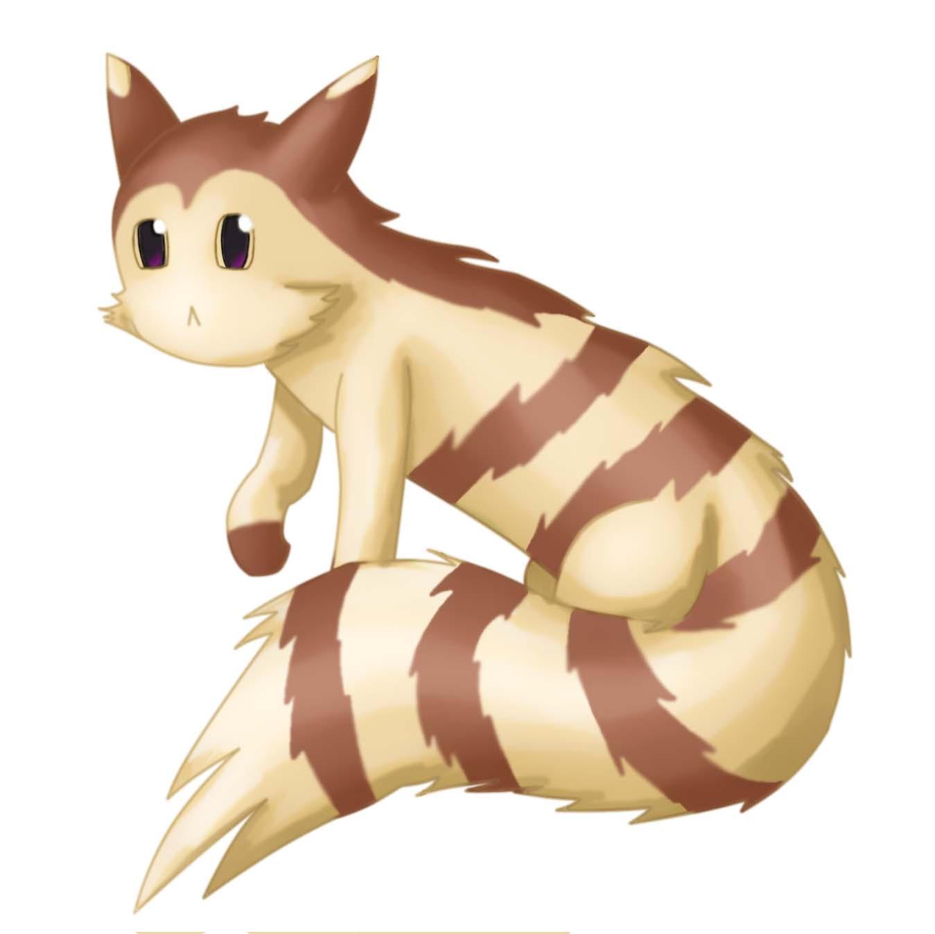 Pokémon-Zeichnung: Furret :3