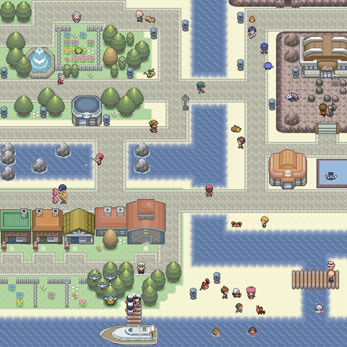 Pokémon-Map: MWB#7 - Remap