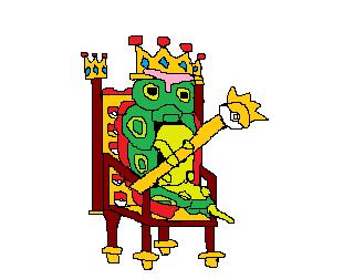 Pokémon-Zeichnung: King Raupy
