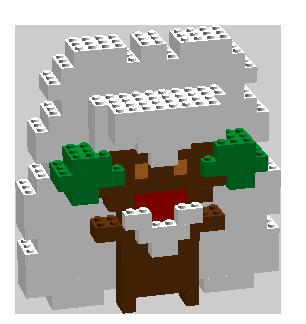 Pokémon-Zeichnung: Lego Elfun