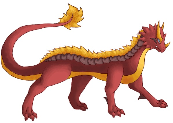 Pokémon-Zeichnung: Kerion