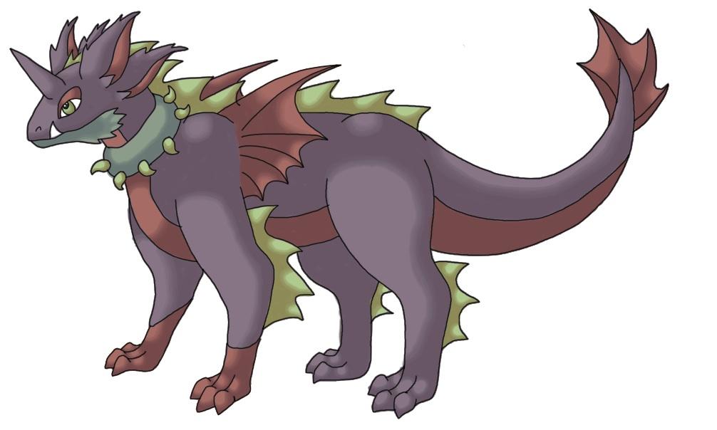 Pokémon-Zeichnung: Nidoking?