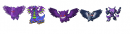 black pokemon collage