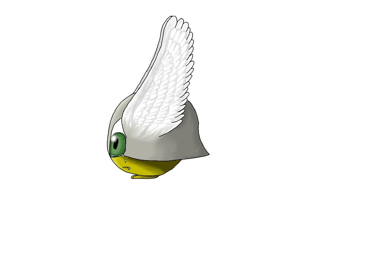 Pokémon-Zeichnung: Summsie Coloriert