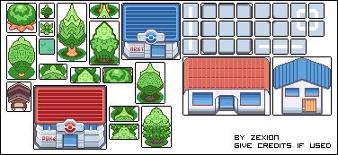 Pokémon-Tileset: *hust*