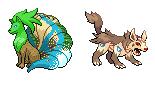 Pokémon-Sprite: Team-Sprite-Match Aufgabe 1