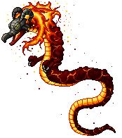 Pokémon-Pixelart:  Volvagia