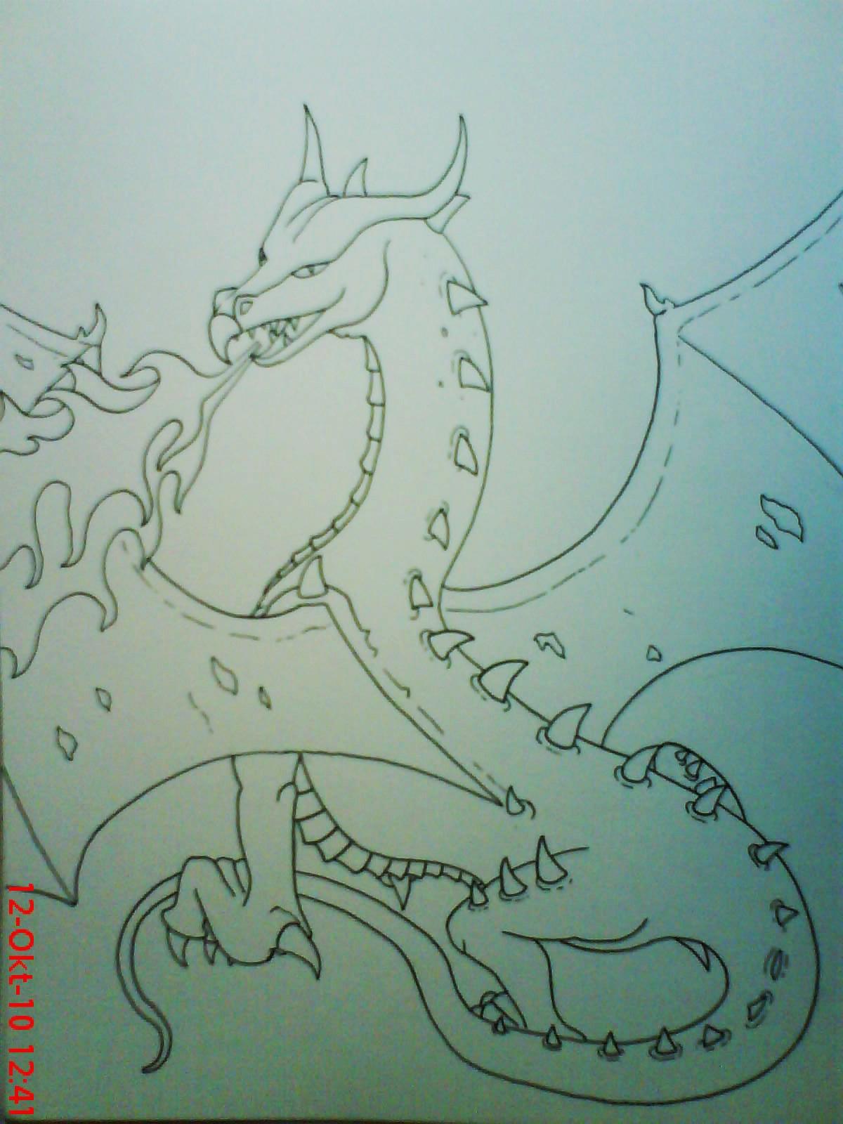 Pokémon-Zeichnung: Lines