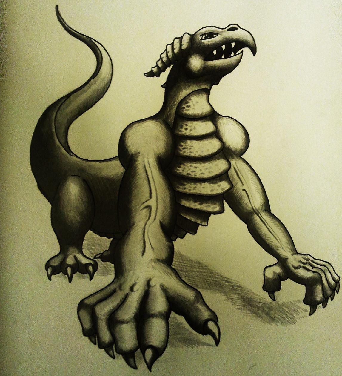 Pokémon-Zeichnung: Fake Legi