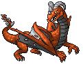 Pokémon-Sprite: drache