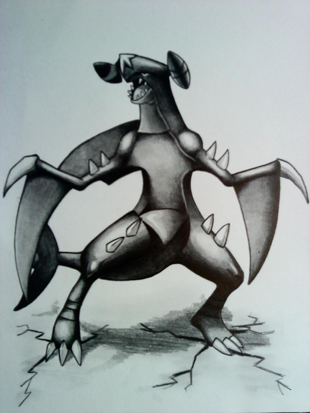 """Pokémon-Zeichnung: """"Chomp"""""""
