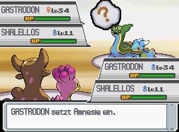 Pokémon-Fanart: Schalellos & Gastrodon Vs. Schalellos & Gastrodon