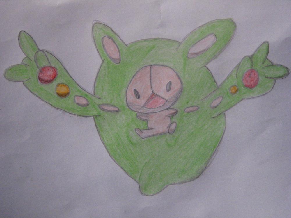 Pokémon-Zeichnung: Rankurusu - Zweiter Versuch ^^