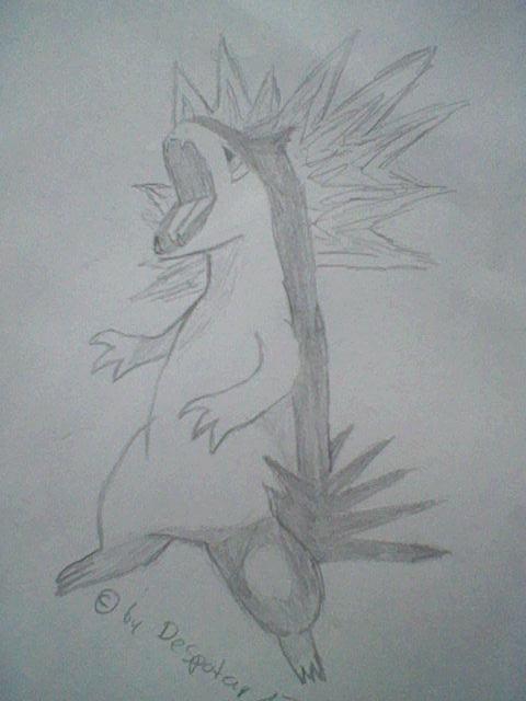 Pokémon-Zeichnung: Tornupto