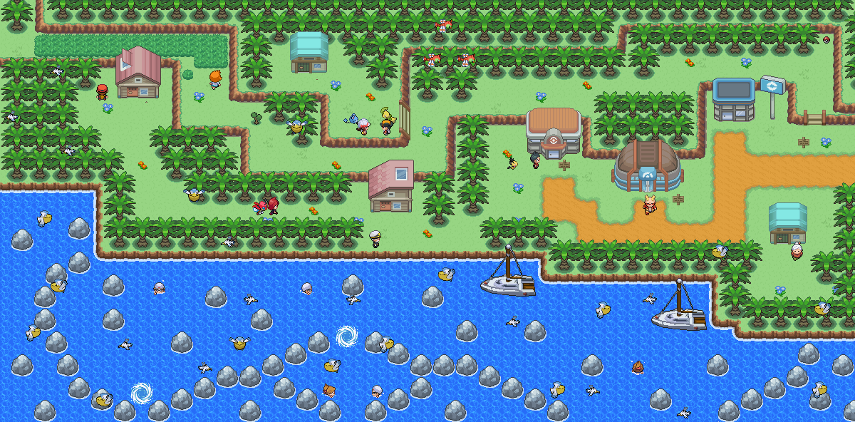 Pokémon-Map: Winplipp City