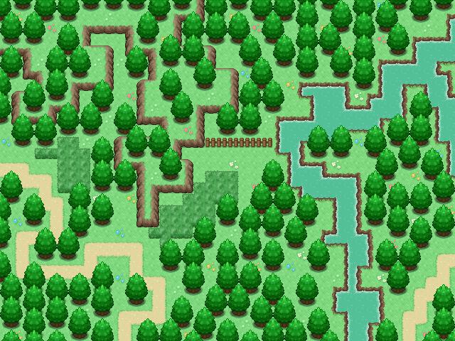 Pokémon-Map: Landschafts Map