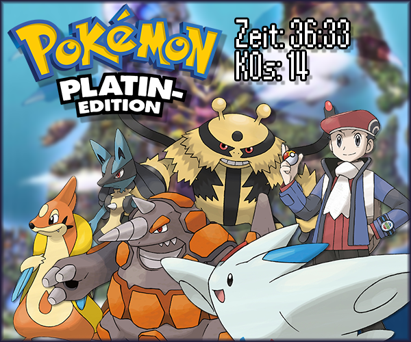 Pokémon-Fanart: Platin Nuzlocke