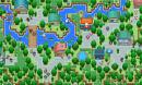 Altes Dorf am Fluss