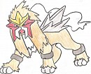 First Drawn Entei