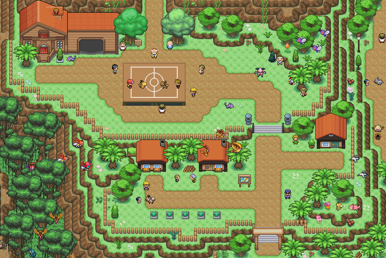 Pokémon-Map: Mapping-Contest Lili'i