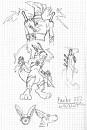 Erfinde Dein Pokemon 3 / Skizze/Entwurf