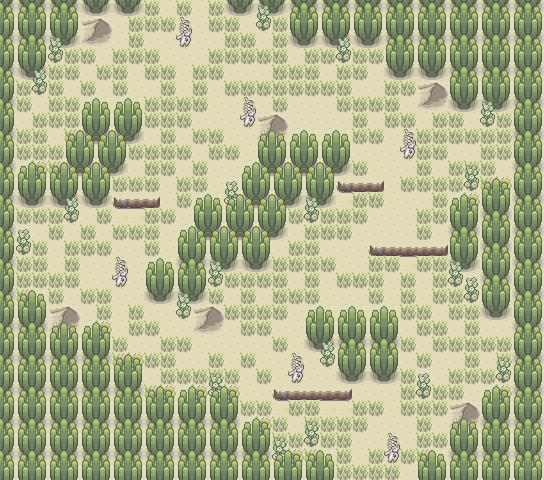 Pokémon-Map: Wüste =)