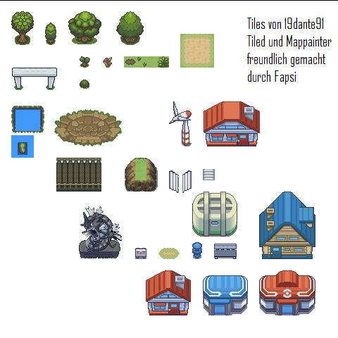 Pokémon-Tileset: Tiles Crono