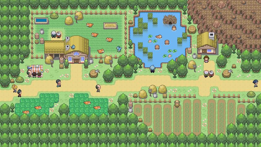 Pokémon-Map: Bauernhof