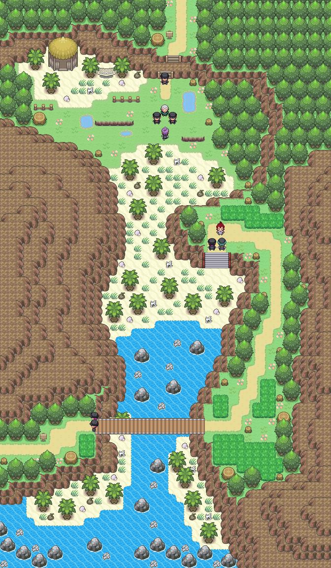 Pokémon-Map: Mapping Wettbewerb #12 - Weg