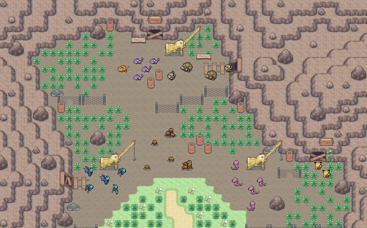 Pokémon-Map: Mapping Wettbewerb #12 - Menschengemachtes Biotop