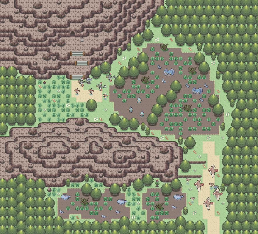 Pokémon-Map: Mapping Wettbewerb #14 - MyMap ( Moor )